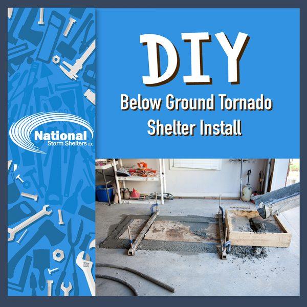 DIY Below Ground Tornado Shelter